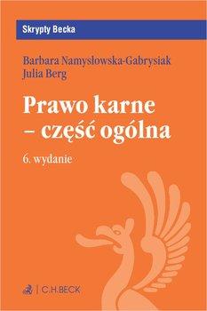 Prawo karne - część ogólna-Berg Julia, Namysłowska-Gabrysiak Barbara
