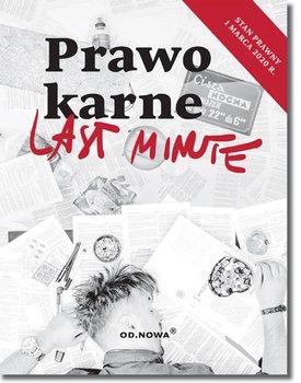 Prawo karne. Last Minute-Talaga Anna