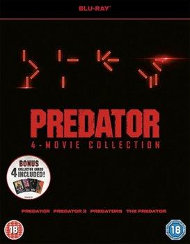 Predator Quadrilogy (brak polskiej wersji językowej)-McTiernan John, Hopkins Stephen, Anderson Paul W.S., Strause Colin, Strause Greg