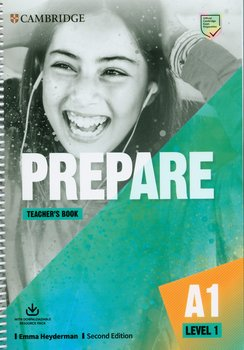 Prepare 1. Teacher's Book with Downloadable Resource Pack. Level 1-Heyderman Emma