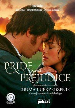 Pride and Prejudice. Duma i uprzedzenie w wersji do nauki angielskiego-Austen Jane, Fihel Marta, Jemielniak Dariusz, Komerski Grzegorz