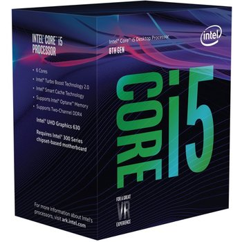 Procesor INTEL Core i5-8400, 2.8 GHz, Socket - LGA1151 - Intel
