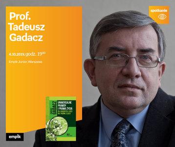 Prof. Tadeusz Gadacz | Empik Junior