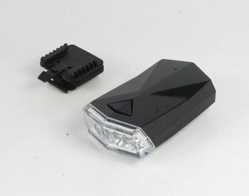 Profex, Lampka rowerowa przednia, Star, 4 LED, czarny-PROFEX