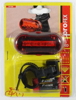 Profex, Lampka rowerowa tylna podłużna, 5 LED-PROFEX