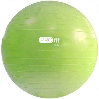 Profit, Piłka gimnastyczna z pompką, DK 2102, zielony, 55 cm -Profit