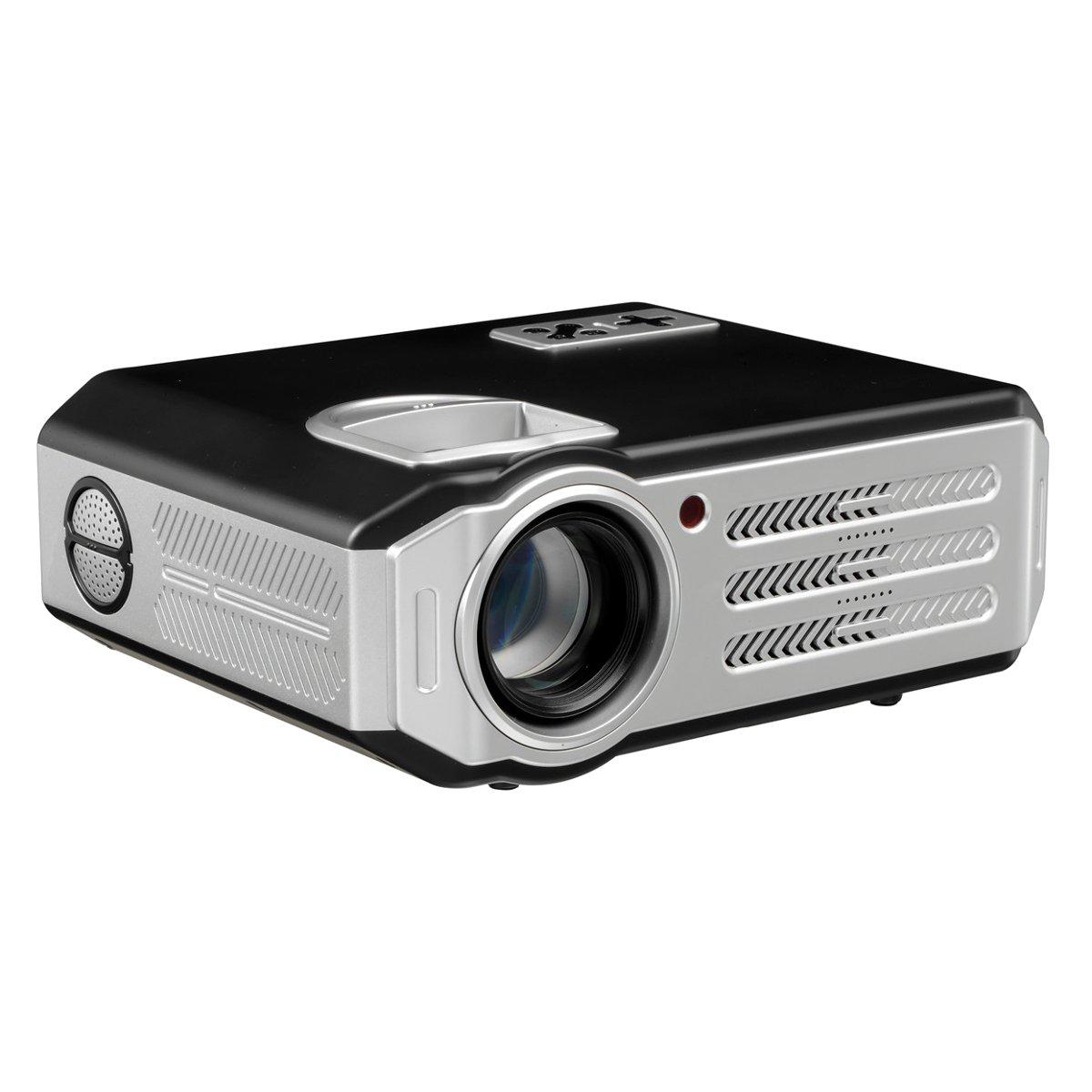 Projektor multimedialny LCD LED rzutnik Z6000 HDMI USB FullHD 50-180 cali + pilot