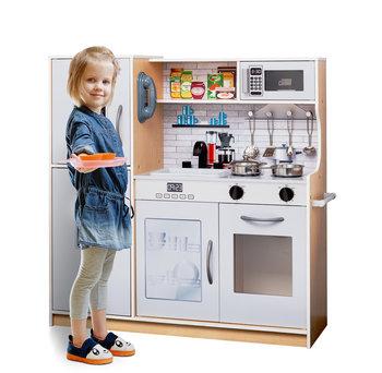 Promis, kuchnia drewniana dla dzieci KD4, z oświetleniem-Promis