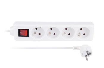 Przedłużacz LIBOX LB0083-1,5, wyłącznik, 4 gniazda, 1,5 m-LIBOX