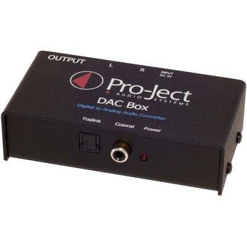 Przetwornik cyfrowo-analogowy PRO-JECT DAC Box TV-Pro-Ject