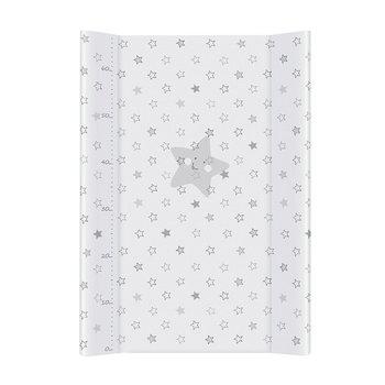 przewijak twardy krótki (50x70) Gwiazdki szare-Ceba Baby