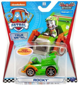 Psi Patrol, autko metalowe Rocky-Spin Master