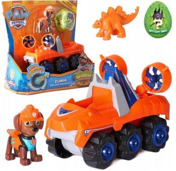 Psi Patrol , pojazd z figurką Dino Rescue Zuma-Spin Master