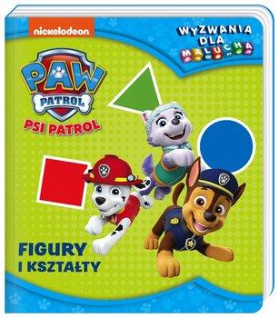 Psi Patrol. Wyzwania dla malucha. Figury i kształty-Opracowanie zbiorowe