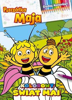 Pszczółka Maja. Dodaj kolorów! Kolorowy świat Mai-Opracowanie zbiorowe