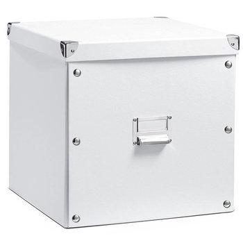 Pudełko do przechowywania, ZELLER, białe, 35 l, 32x33x33 cm  -Zeller