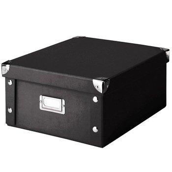 Pudełko do przechowywania ZELLER, czarne, 14x31x26 cm-Zeller