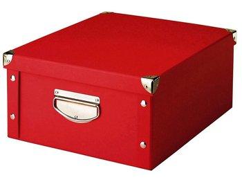 Pudełko do przechowywania ZELLER, czerwone, 17x40x33 cm-Zeller