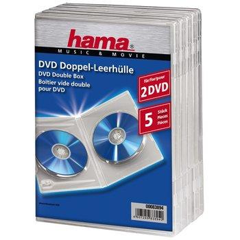 Pudełko HAMA na DVD Double-Box, przezroczyste-Hama