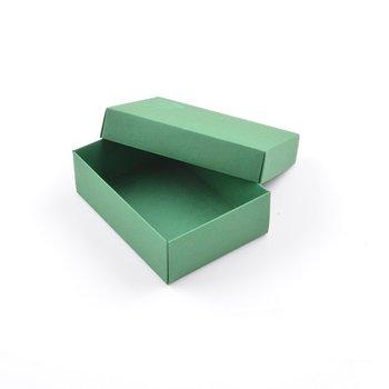 Pudełko ozdobne, L, zielone