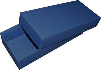 Pudełko ozdobne, niebieskie, 18x8x4 cm-AWIH