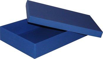 Pudełko ozdobne, niebieskie, 35x24x7 cm-AWIH