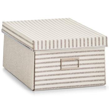 Pudełko ozdobne, ZELLER, beżowe, 13,5 l-Zeller