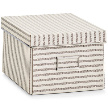 Pudełko ozdobne, ZELLER, beżowe, 8,82 l-Zeller