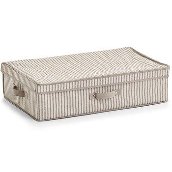 Pudełko tekstylne ZELLER, beżowe, 61,5x38x16,5 cm-Zeller