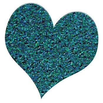 Puder do embossingu, niebieski brokat, 10 g