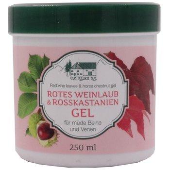 Pullach Hof Żel z liści czerwonych winogron i kasztanowca - 250 ml
