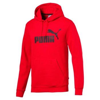 Puma, Bluza męska, ESS HOODY FL BIG LOGO 85174305, czerwony, rozmiar L-Puma