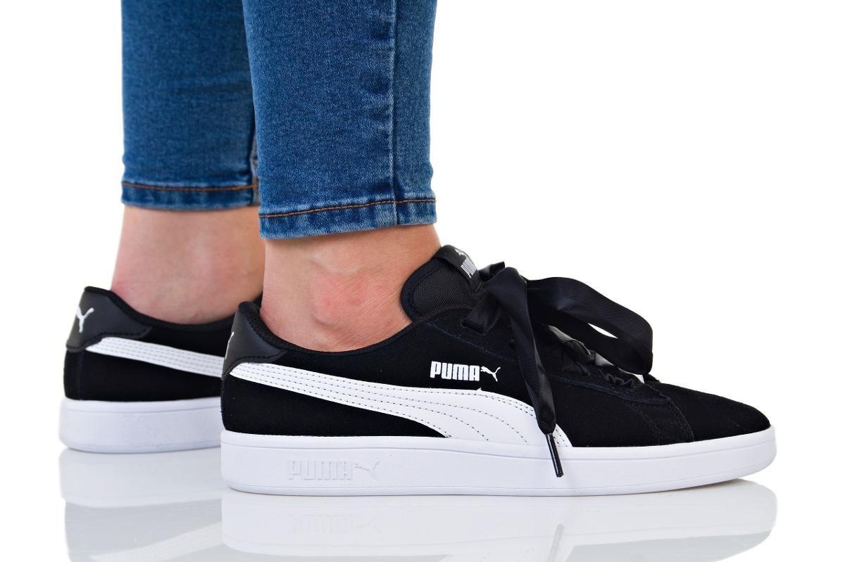 Puma, Buty damskie, Smash V2 Ribbon Jr, rozmiar 38 12