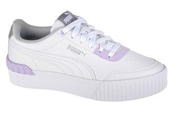 Puma Carina Lift Shine 380552-01, dla dzieci, buty sneakers, Biały-Puma