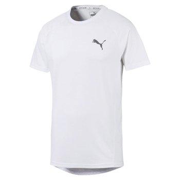 Puma, Koszulka męska, Evostripe Tee 58008402, rozmiar XXL, biały-Puma