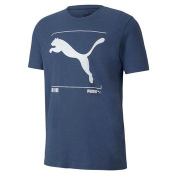 Puma, Koszulka męska, NU-TILITY 58155243, niebieski, rozmiar M-Puma