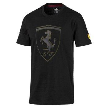 Puma, Koszulka męska, SF BIG SHIELD TEE 59555402, czarny, rozmiar L-Puma