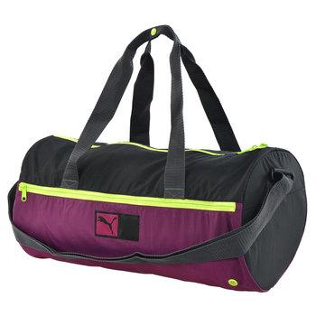 Puma, Torba sportowa, Power train barrel bag, fioletowy, 22x45x20 cm-Puma