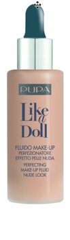 Pupa, Like A Doll Perfecting Make-Up Fluid, lekki podkład upiększający 030, SPF 15, 30 ml-Pupa
