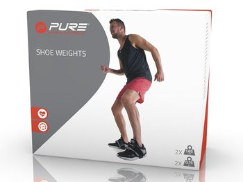 Pure2Improve, Ciężarki na buty, SHOE WEIGHTS, szary, 2szt.-Pure2Improve