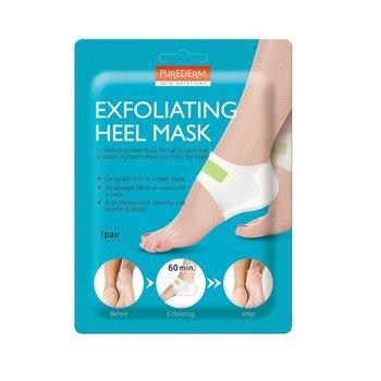 Purederm, Exfoliating Heel, maska złuszczająca na pięty, 1 para-Purederm