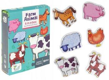 Puzzle Baby dla najmłodszych farma zwierzątka-SuperZabaweczki
