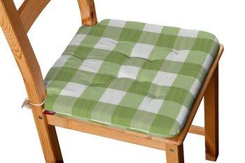 Quadro Siedzisko Olek Na Krzesło Zielono Biała Krata 55x55cm 42x41x35 Cm