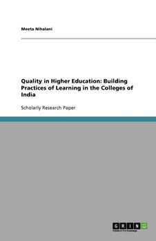 Quality in Higher Education-Nihalani Meeta