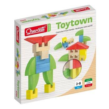 Quercetti, drewniane klocki Toytown-Quercetti