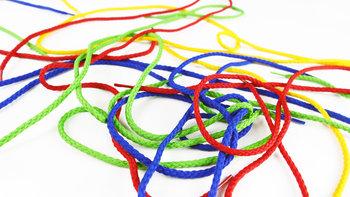 Quercetti, Play Montessori, zabawka edukacyjna Wiązanka ABC + 123-Quercetti