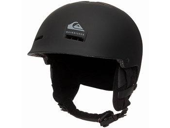 Quiksilver, Kask narciarski, Fusion Black 2020, czarny, rozmiar S-Quiksilver