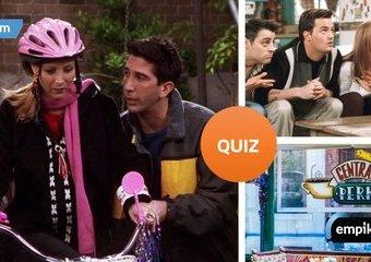 """Quiz: Jak dobrze znasz losy bohaterów serialu """"Przyjaciele"""""""