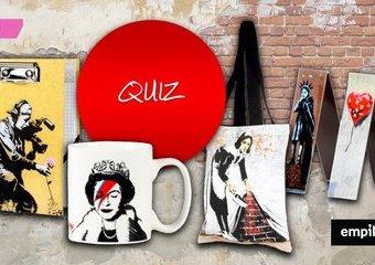 Quiz: Jak dobrze znasz twórczość Banksy'ego?
