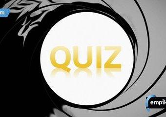 Quiz: Jak dużo wiesz o Bondzie? Jamesie Bondzie